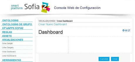 Crear Dashboard edit