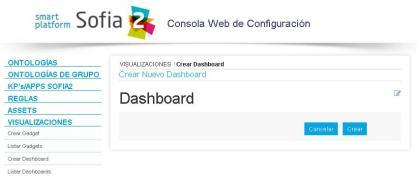 Crear Dashboard