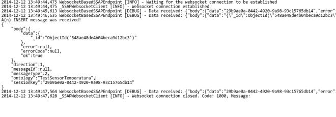 Ejecución de la prueba del API Python